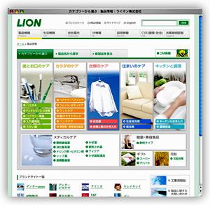 【図2】製品情報ページ